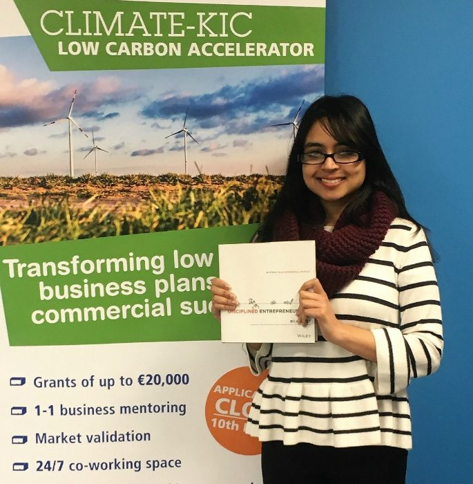 Win A Hot-Desk Package with Climate KIC Accelerator!