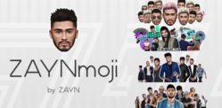 'ZAYNmoji' ~ ஜெய்ன் மாலிக்கின் புதிய ஈமோஜி பயன்பாடு