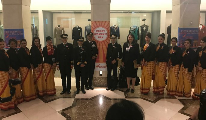 Air India All–Women crew sets New Record