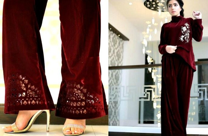 Embroidered Bootcut Trousers are Stylish, Flared & Classy