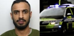 ડ્રગ વેપારીને બે પોલીસ પીછો દરમિયાન ડેન્જરસ ડ્રાઈવિંગ બદલ જેલની સજા