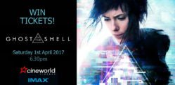Win Tickets to see Ghost in the Shell