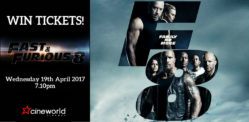 Win Tickets to see Fast and Furious 8