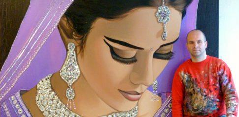 Frank Wagtmans ~ Dutch Painter of Indian Bridal Women