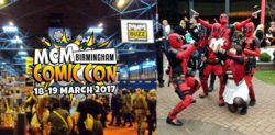 MCM Birmingham Comic Con March 2017 Highlights
