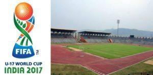 இந்தியாவின் யு -17 உலகக் கோப்பை போட்டி இடங்கள் வெளிப்படுத்தப்பட்டன