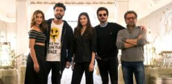 Arjun Kapoor and Cast arrive in London for Mubarakan Shoot