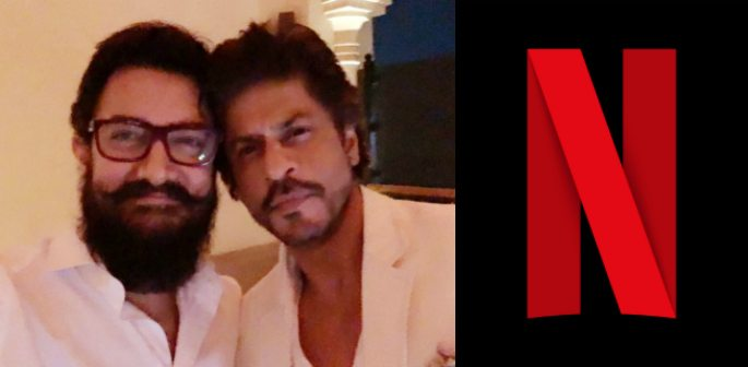 Did SRK and Aamir Khan discuss Film Rights in Netflix meeting?