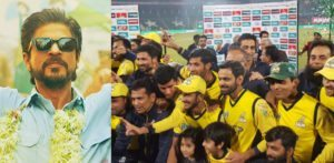 SRK match proposal between Peshawar Zalmi and Kolkata Knight Riders not True