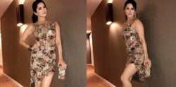 Sunny Leone stuns in Very Sexy sequined Rocky Star dress