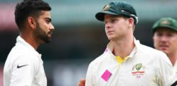 Virat Kohli not 'So Friendly' with Australian Players over Test Series