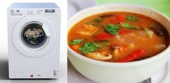 Panasonic India tackle Curry Stains with New Washing Machine