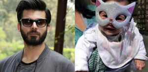 Fawad Khan's Daughter looks Adorable and Cute
