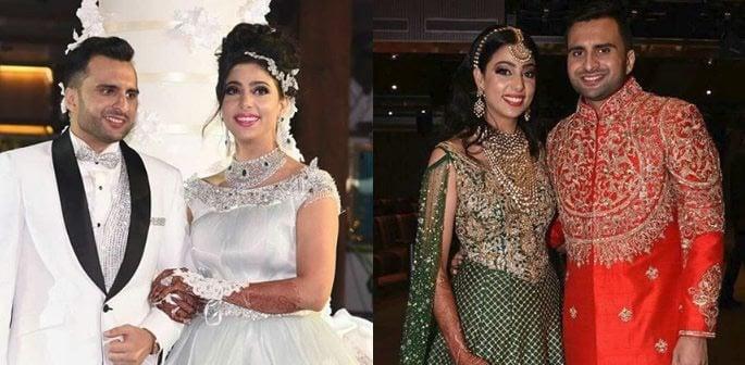 Adel Sajan weds Sana Khan in Luxury Cruise Wedding