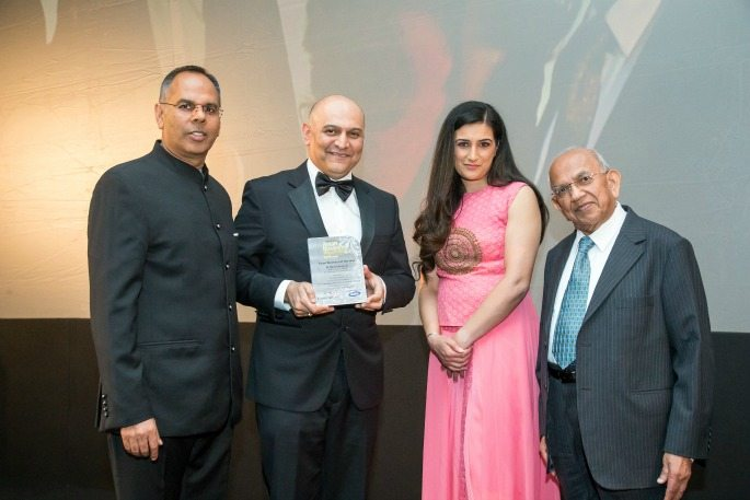 Winners of the Asian Business Awards Midlands 2017