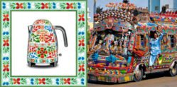 D&G and Smeg Kitchen's New Love Affair with Pakistani Truck Art