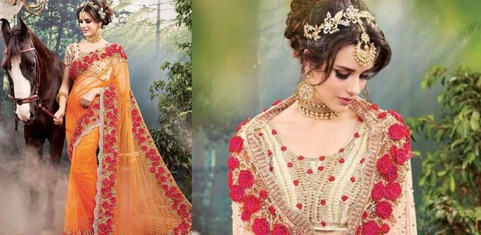 Bridal Sarees for your Fairy Tale Wedding