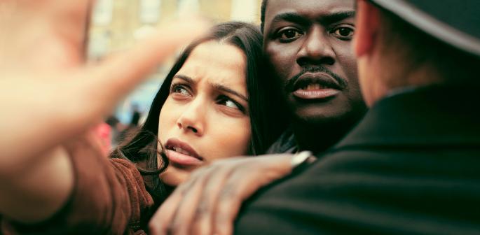 Freida Pinto stars in Sky Atlantic's Guerrilla