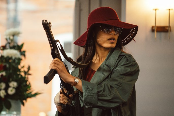 Freida Pinto stars in Sky Atlantic's Guerrilla