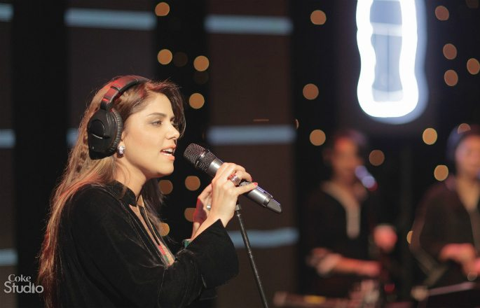 Hadiqa made an appearance in Coke Studio's season 5.