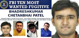Indian man appears on FBI's 'Most Wanted List' for Murder