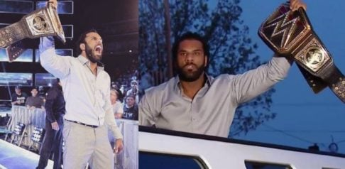 Jinder Mahal and Singh Brothers Steal the WWE Belt