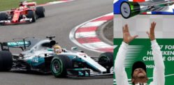 Lewis Hamilton clinches 1st place in Shanghai F1