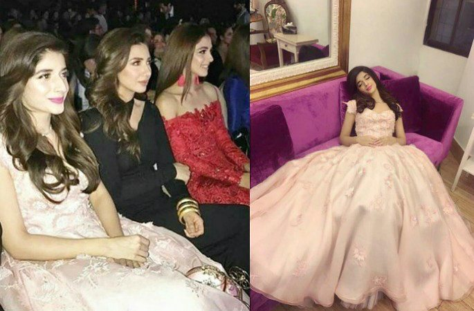 Mawra Hocane Stuns in Pink Fairy Tale Gown at Lux Style Awards 2017