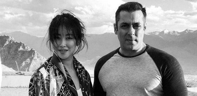 Salman Khan's Heroine in Tubelight is Chinese actress Zhu Zhu