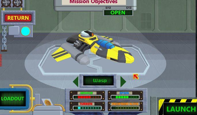 Sci-Fi Captain Kaon re-creates Gravity Shooter Nostalgia