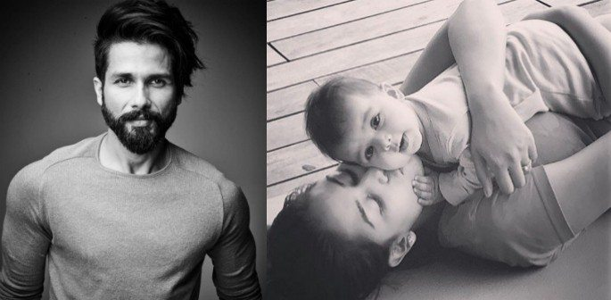 Shahid Kapoor reveals Adorable Picture of his baby Daughter