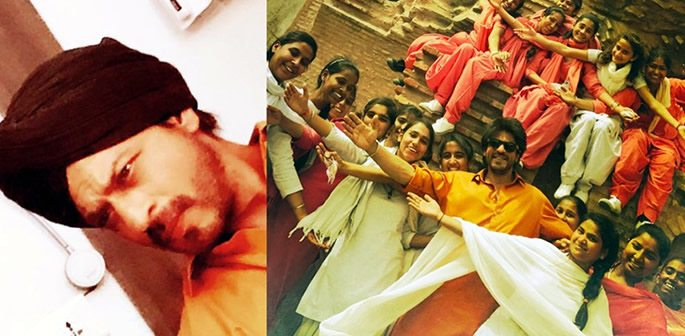 Shahrukh Khan filming for new movie as a 'True Punjabi'