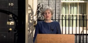 Theresa May announces 'Brexit' General Election on 8th June 2017