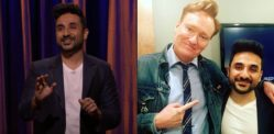 Indian Comedian Vir Das Slays in Debut on Conan O'Brien Show