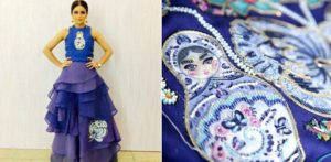Wardha Saleem brings Russian Designs to Pakistan