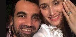 Cricketer Zaheer Khan gets Engaged to Sagarika Ghatge