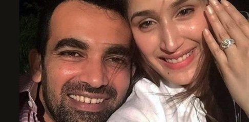 Cricketer Zaheer Khan gets Engaged to Sagarika Ghatge