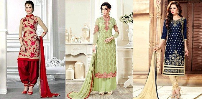10 Beautiful Styles of Salwar Kameez to Wear-