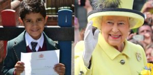 4-year-old Birthday Boy receives reply from the Queen