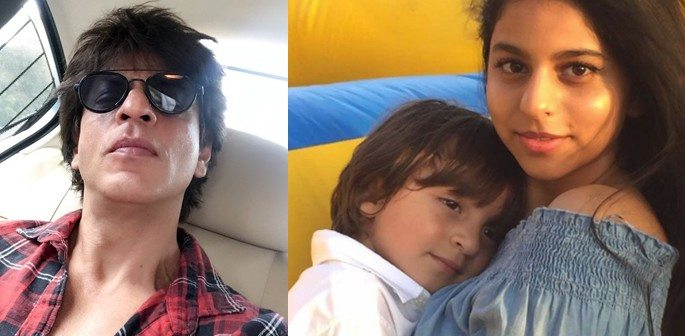 Shahrukh Khan celebrates AbRam's 4th Birthday with a Fun Party!