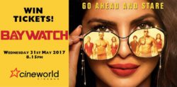 Win Tickets to see Baywatch