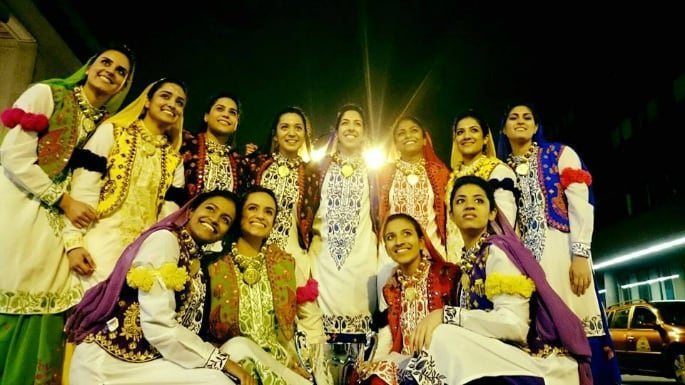 History of Competitive UK Bhangra ~ Girl Power & Going Global