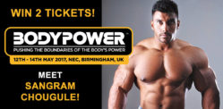 Win Tickets to BodyPower Expo UK and Meet Sangram Chougule!