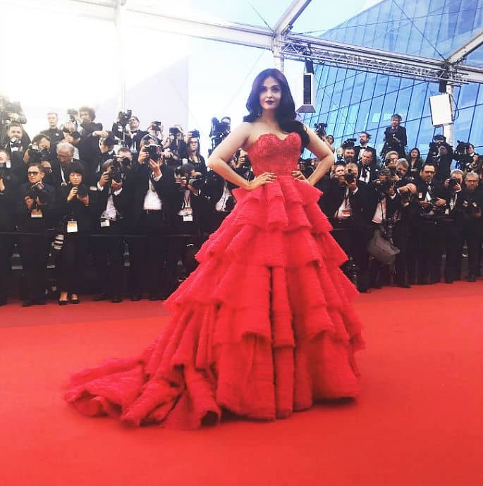 Aishwarya Rai is Speechlessly Beautiful at Cannes 2017