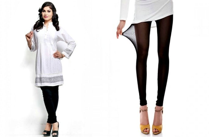 How to Style Leggings with Kameez-Image 1