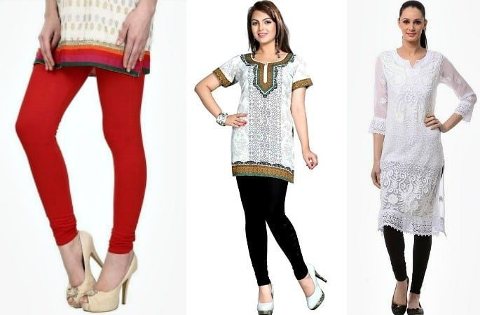How to Style Leggings with Kameez -Image 2