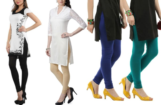 How to Style Leggings with Kameez -Image 3