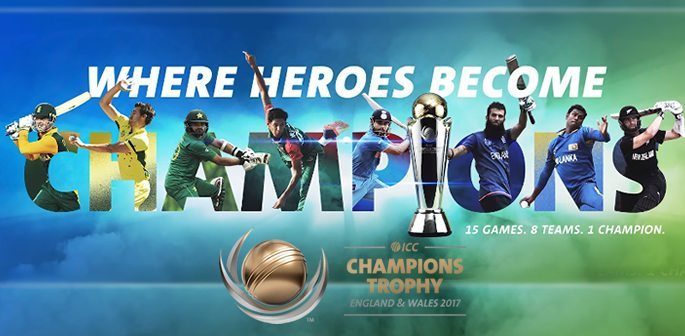 ICC Champions Trophy Cricket 2017 ~ England & Wales