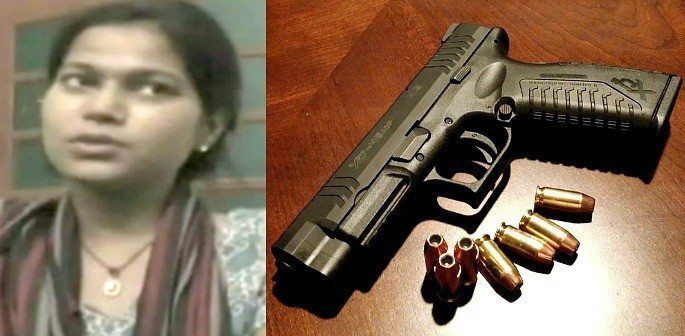 Indian Woman uses Gun to kidnap Ex-Boyfriend at Wedding