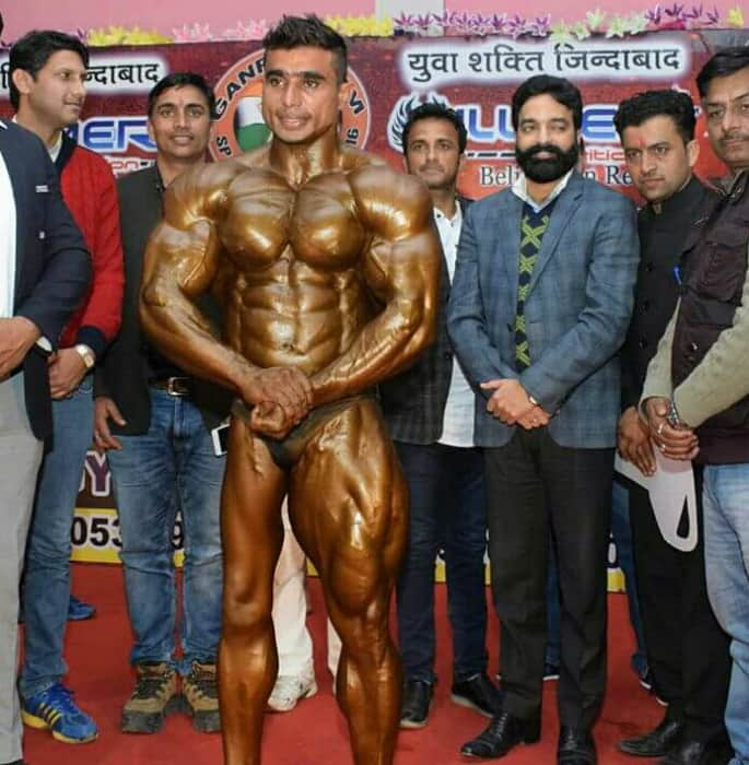 Indian Athlete to compete in BodyPower Fitness after Polio Battle
